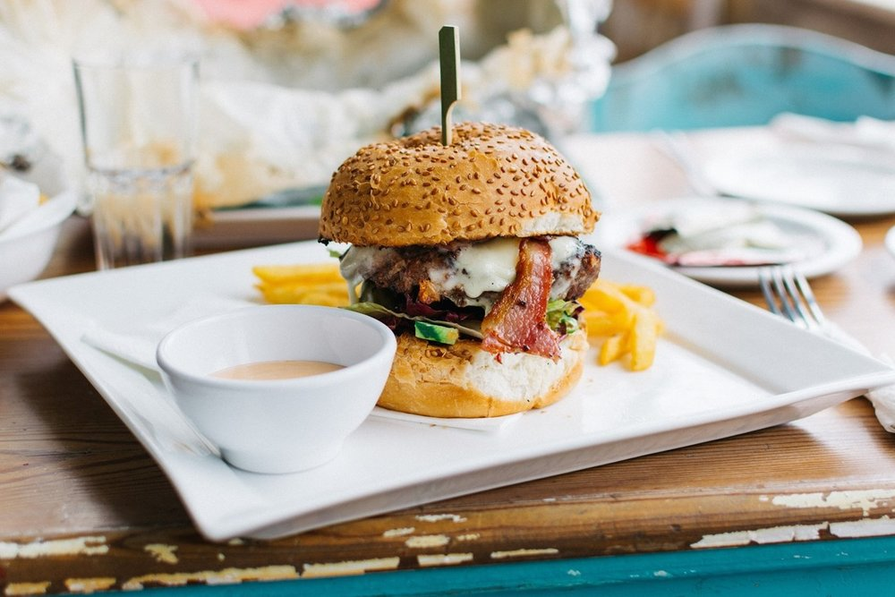Burgers of every type (and at every imaginable price point) are another South Lake Tahoe standard.   Jakub Kapusnak    |    Unsplash