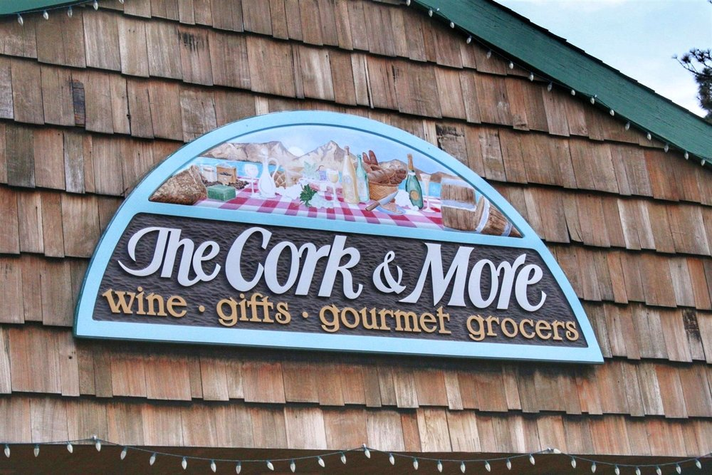 South Lake Tahoe's Cork & More is the best spot for great deli sandwiches, both hot and cold, plus cheese platters, wine tastings and happy hour deals.  © Ski Travel Guru