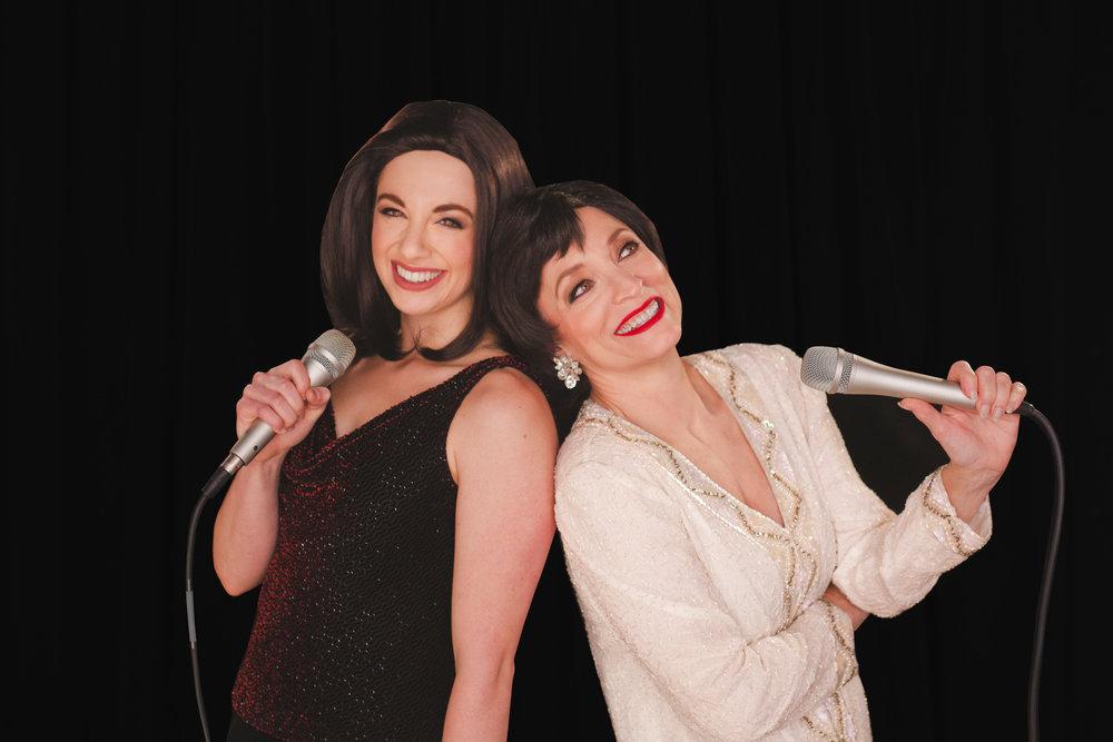 """A truly beautiful tribute…"" - ""Alexa Castelvecchi's, joyful almost naïve Liza Minnelli, is played in contrast to the wiser yet sometimes sullen Garland."""