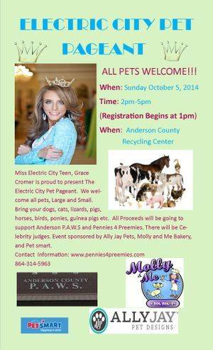 Pet Pageant 2014 - This is going to be a great Family Fun Event and your pet will LOVE you!