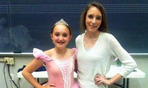 Grace supporting her Miss South Carolina princess at her dance recital!