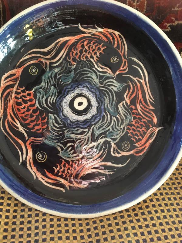 Carved Fish Design - $50