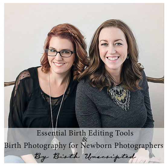 Birth Unscripted was among the first to start a birth photography partnership/share call. But that's not all they are known for. Natasha and Amanda's work is clean, crisp and perfectly lit. Having mastered both portrait and documentary genres, we are beyond excited to learn a few of their tricks about navigating them simultaneously!