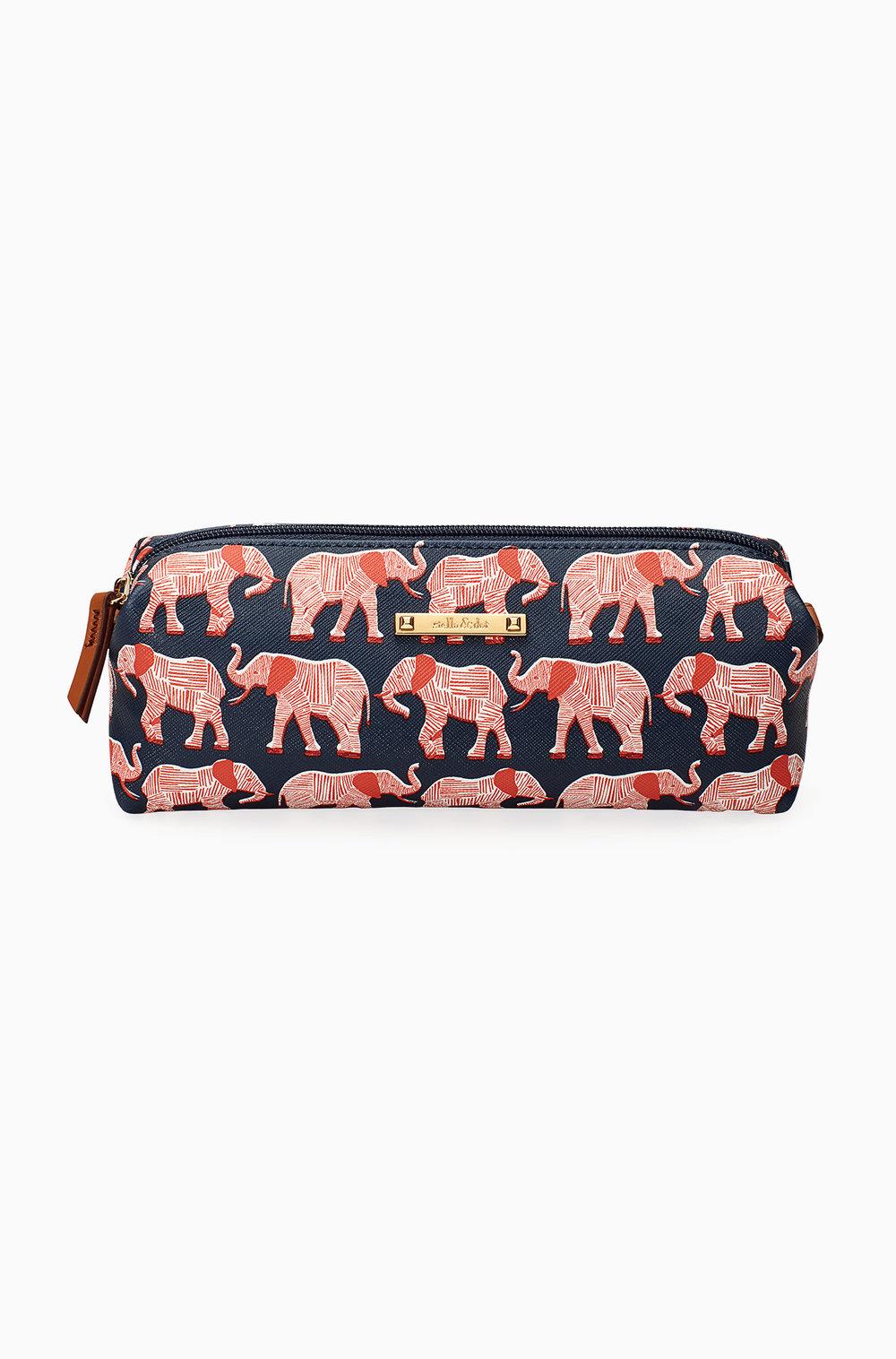 Slim Pouch--Elephant