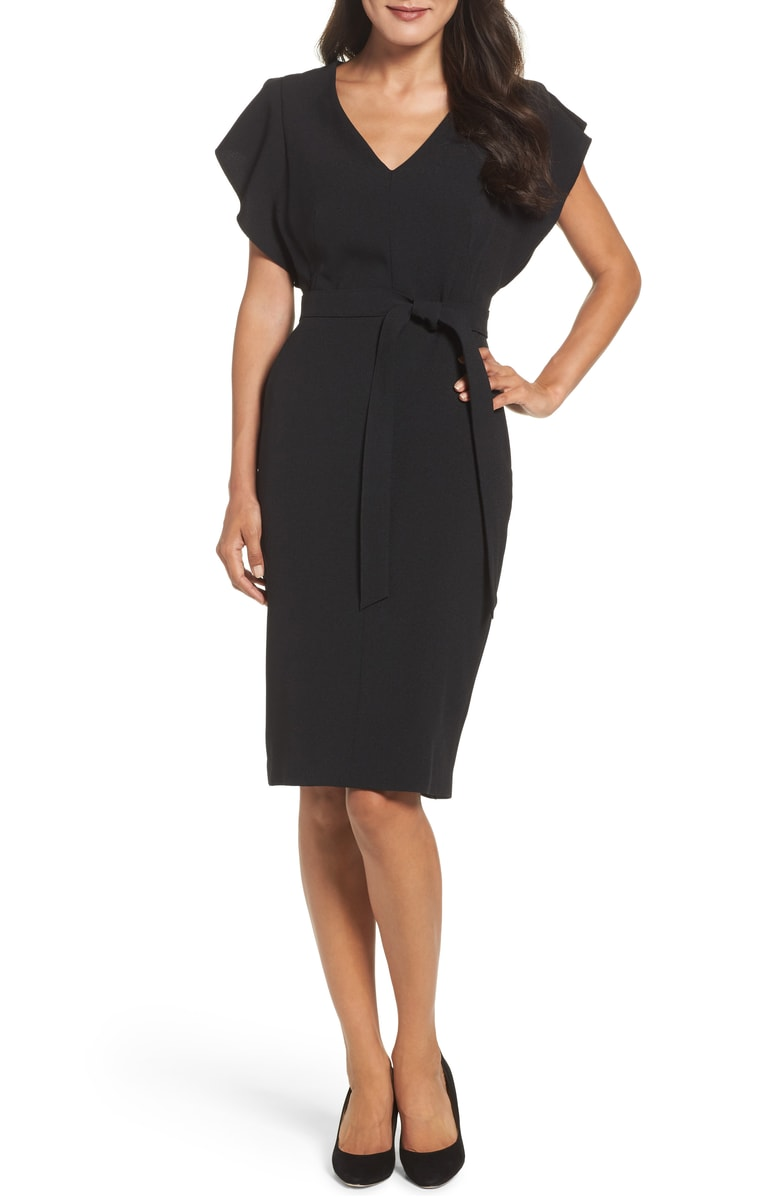 Black Ruffle Sheath Dress.jpg