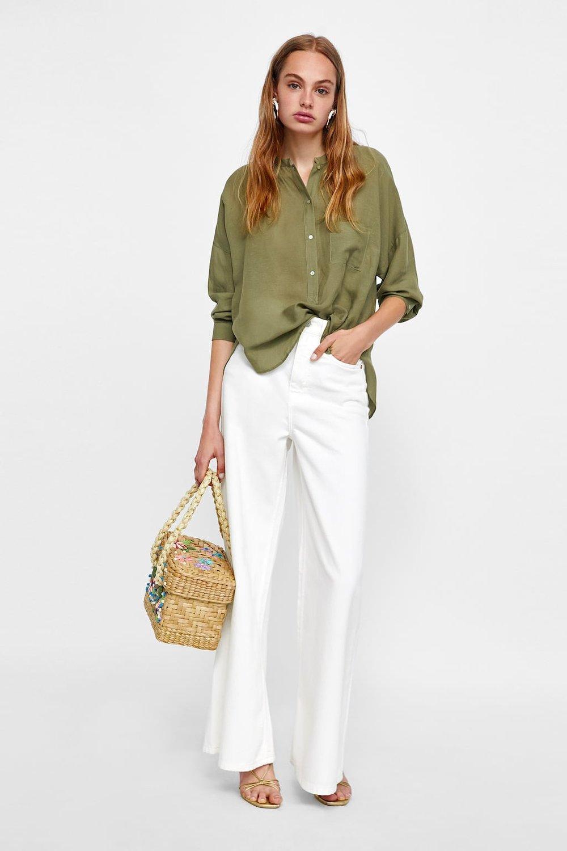 zara asymmetrical blouse.jpg