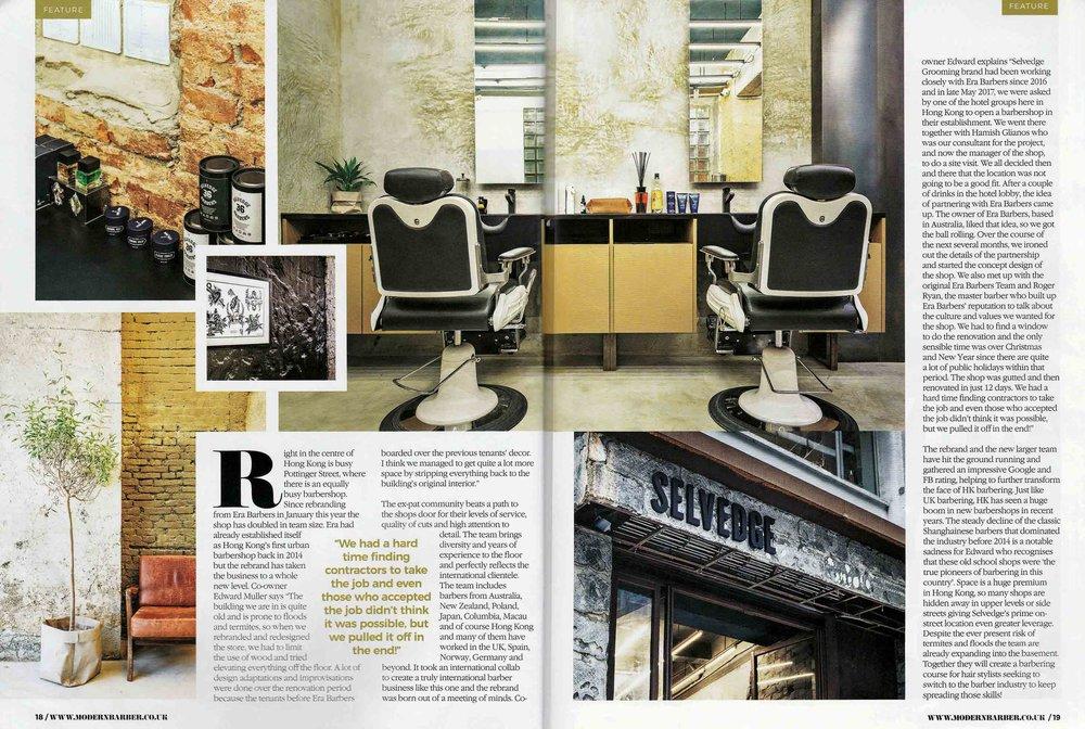 Modern Barber Magazine UK, Issue 20 Oct - Dec