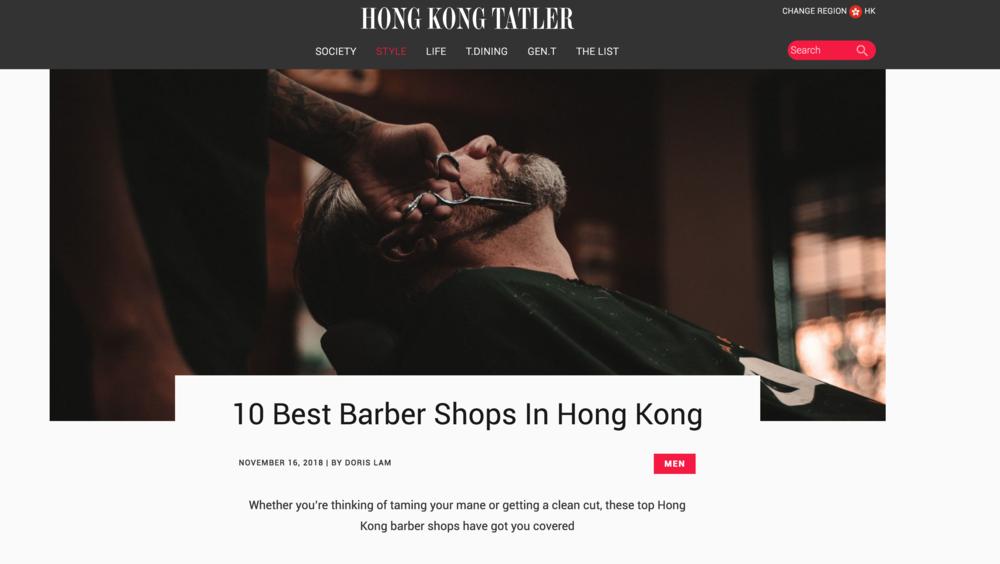 10 Best Barber Shops in Hong Kong  - Hong Kong Tatler (EN)