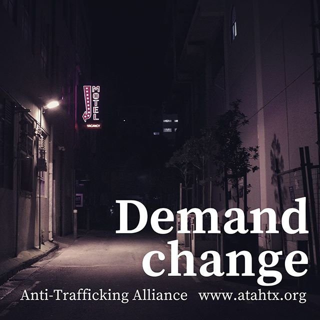 There are an estimated 80,000 child sex trafficking victims in Texas. Those victims move on to be adults in sexually orientated businesses and pornography.  With an abusive life behind them, how can they imagine a life of hope ahead? ATA works with law enforcement to stop traffickers, works with victims to rebuild lives by offering them a way out, supporting them, advocating for them and connecting them with services for health, housing and life skills. Demand change. Get involved. Learn more at  https://www.atahtx.org  #humantrafficking #antitrafficking #hope #htx #texas #humantraffickingawareness #demandchange
