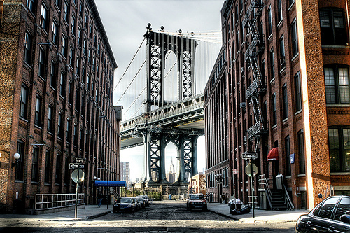 DUMBO in Brooklyn