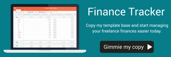 airtable template freelance finances tax calculator self employed money management