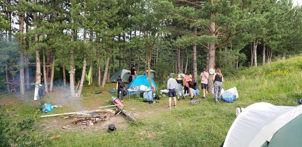 sofia bulgaria vitosha mountain camping