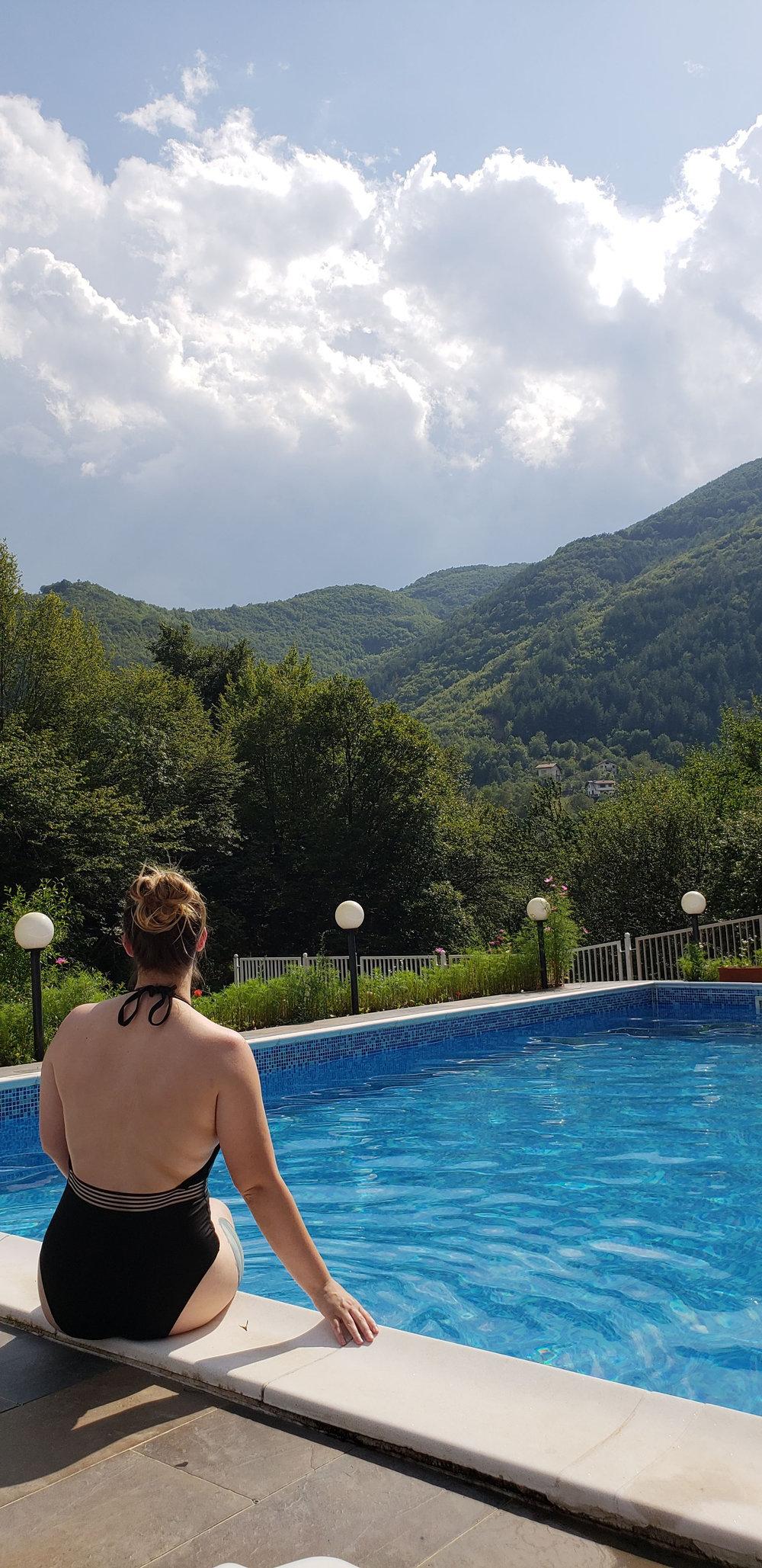 sofia buglaria bakyovo village pool