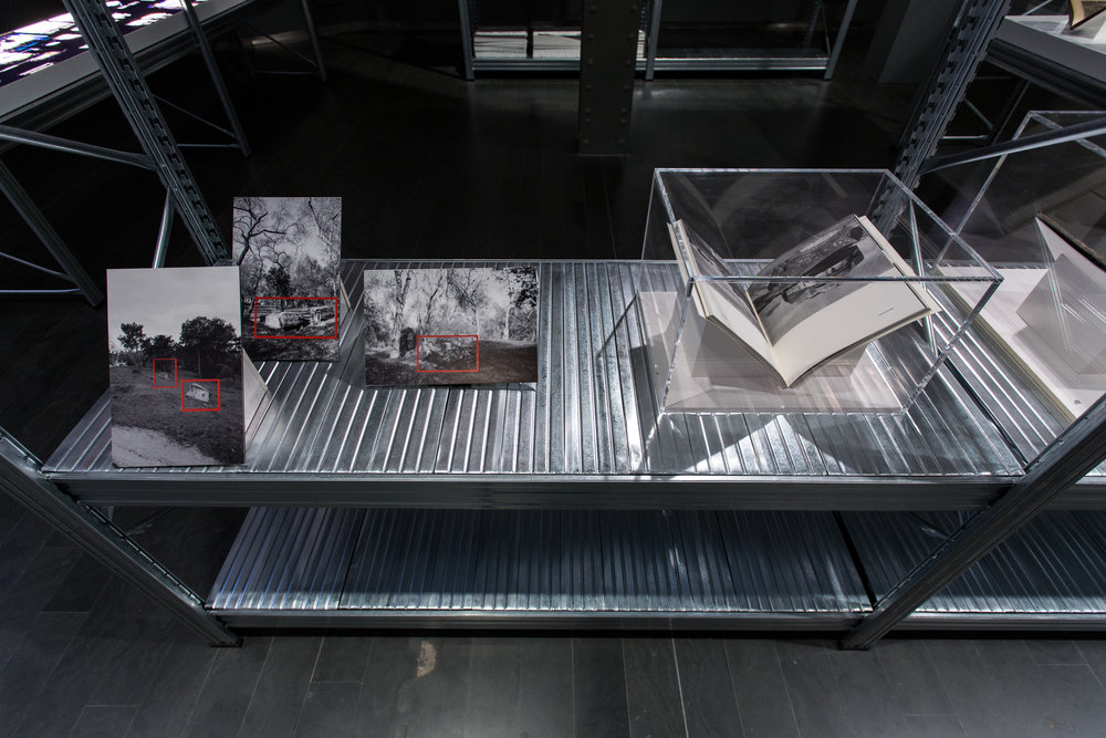 Vestiges of defensive architectures of the Spanish Civil War./ ATLAS DE LAS RUINAS DE EUROPA exhibition at CentroCentro,Madrid,Spain