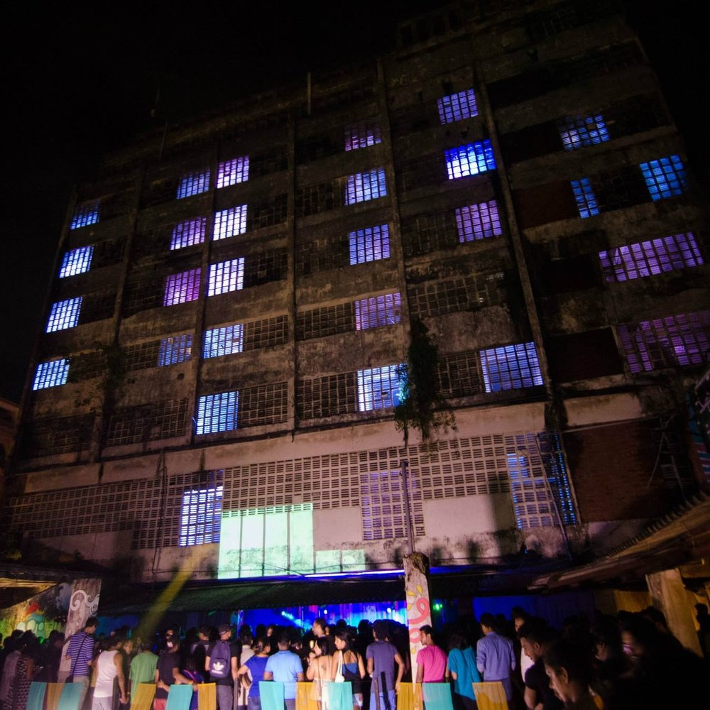 PETTAH INTERCHANGE - A celebration of alternative music, art and culture that has taken place annually since 2012 in abandoned and neglected urban spaces in Colombo, Sri Lanka.