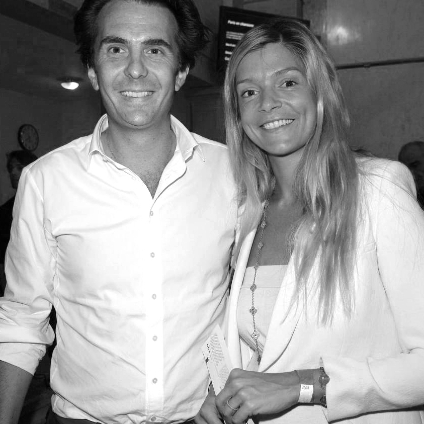 Chloé Bouygues et Yannick Bolloré - Chloé was born and raised in Paris where she presently lives with her husband Yannick and her four lovely girls.Jess and Chloé met in Sweden at Lund Universitat where they were studying at the wee ages of 20. Chloé was Jessica's closest friend in Sweden and complete muse - which she continues to be with even more inspiration now! Chloé is a renowned artist known best for her photographic compilations - but more on that later as there will be a post script gift emerging from this event weekend that will be created by Chloé!