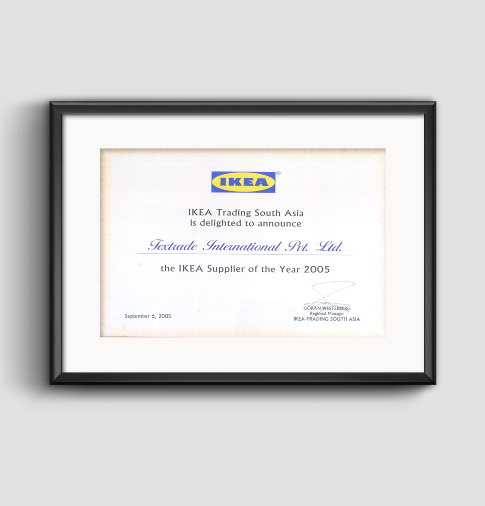 IKEA Supplier of Year Award