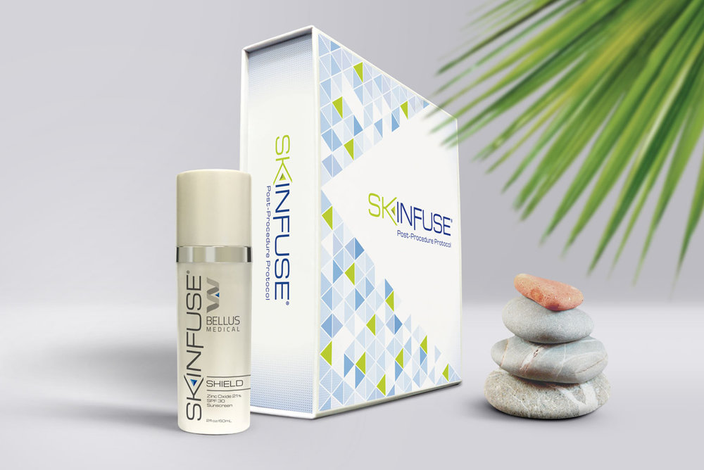Skinfuse Skincare Package Redesign