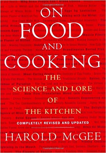 On Food And Cooking: The Science And Lore Of The Kitchen - A book by Harold McGee, published by Scribner in the United States in 1984 and revised extensively for a 2004 second edition. Originally published: November 1984Author: Harold McGeeISBN: 978-0-684-80001-1 (U.S.); 9780340831496 (UK)