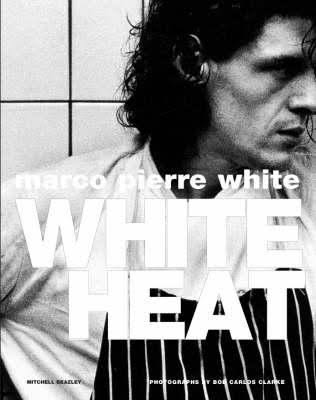 White Heat - White Heat is a cookbook by chef Marco Pierre White, published in 1990. It features black and white photographs by Bob Carlos Clarke. It is partially autobiographical, and is considered to be the chef's first memoir.Originally published: 1990Author: Marco Pierre WhiteGenre: CookbookPublisher: Mitchell BeazleyIllustrator: Bob Carlos Clarke