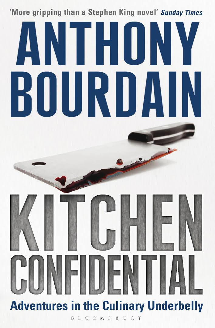 Kitchen Confidential - Kitchen Confidential: Adventures in the Culinary Underbelly is a New York Times bestselling non-fiction book written by American chef Anthony Bourdain. Originally published: 22 May 2000Author: Anthony BourdainPage count: 320Genre: MemoirPublisher: Bloomsbury Publishing