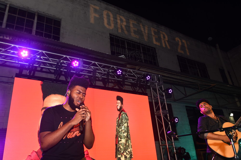 """We Are Forever"" Event with Khalid   Downtown LA"