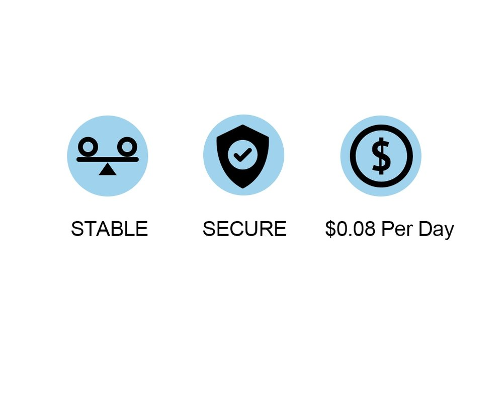 Most Cost-effective VPNOnly $0.08 Per Day - It comes complete with industrial strength encryption, zero interaction protocol, and an ad blocker. Which is hard to be recognized than IPsec and L2TP, more stable than an app.With only USD$99, you got a hassle-free 3-year subscription and 1-year hardware maintenance. Your average spend on this device is only USD$0.08 per day. No hidden costs. It's one of the lowest you have ever seen.