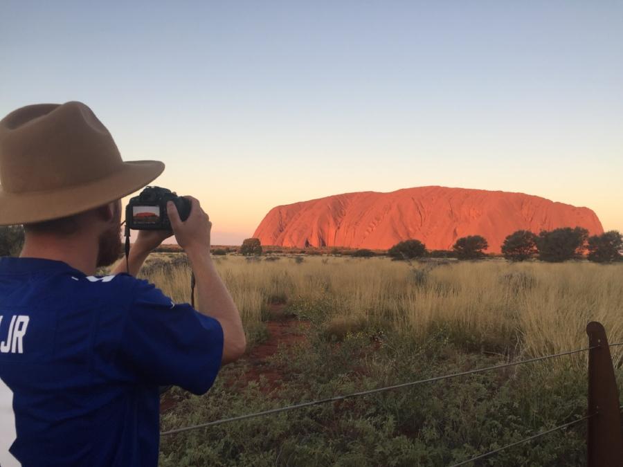 (Sunset - Uluru)