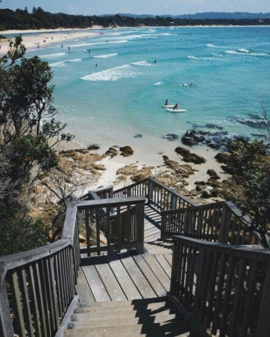 (Clarkes Beach View Point - Byron Bay)
