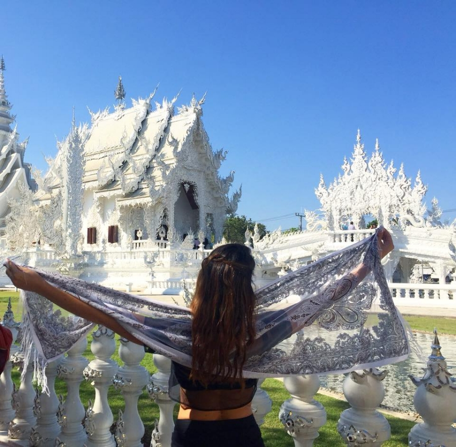 (The White Temple - Chang Rai)
