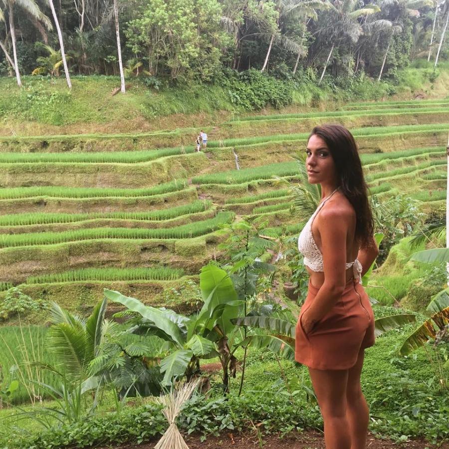 (Terrasse de riz de Tegalalang)