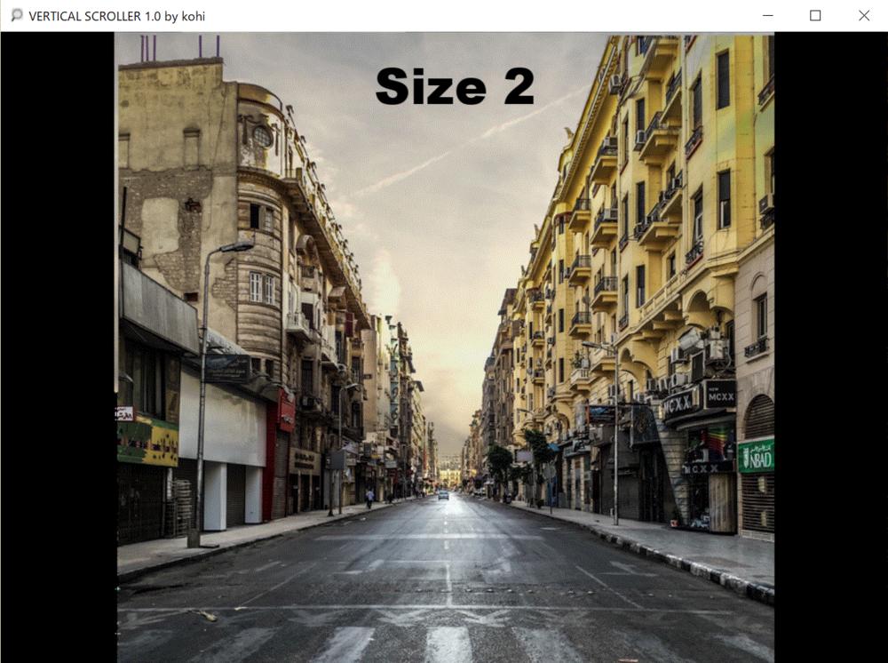 Origin image size