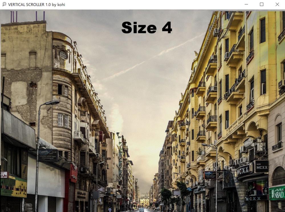 Maximum size