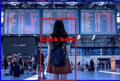 Airport girl  Scroll big area