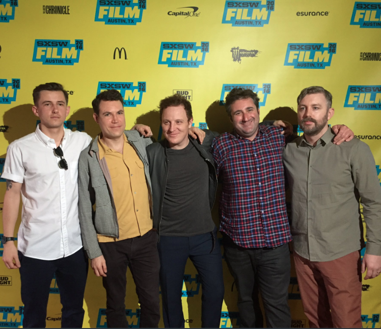 The Man From Mo'Wax  world premiere at SXSW Film Festival in Austin, Texas. Lee Holmes, Alec Rossiter, Matt Jones, Brian Hoffmann & MJ McMahon