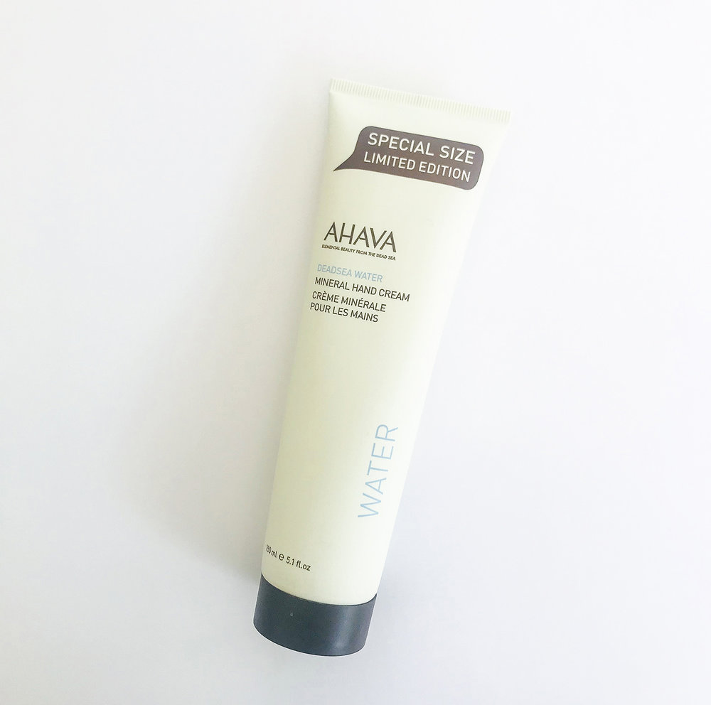AHAVA Dead Sea Water - Mineral hand cream. Elemental Beauty from the Dead Sea.Special Size Limited Edition - 150mlR500 - AH001Free shipping.