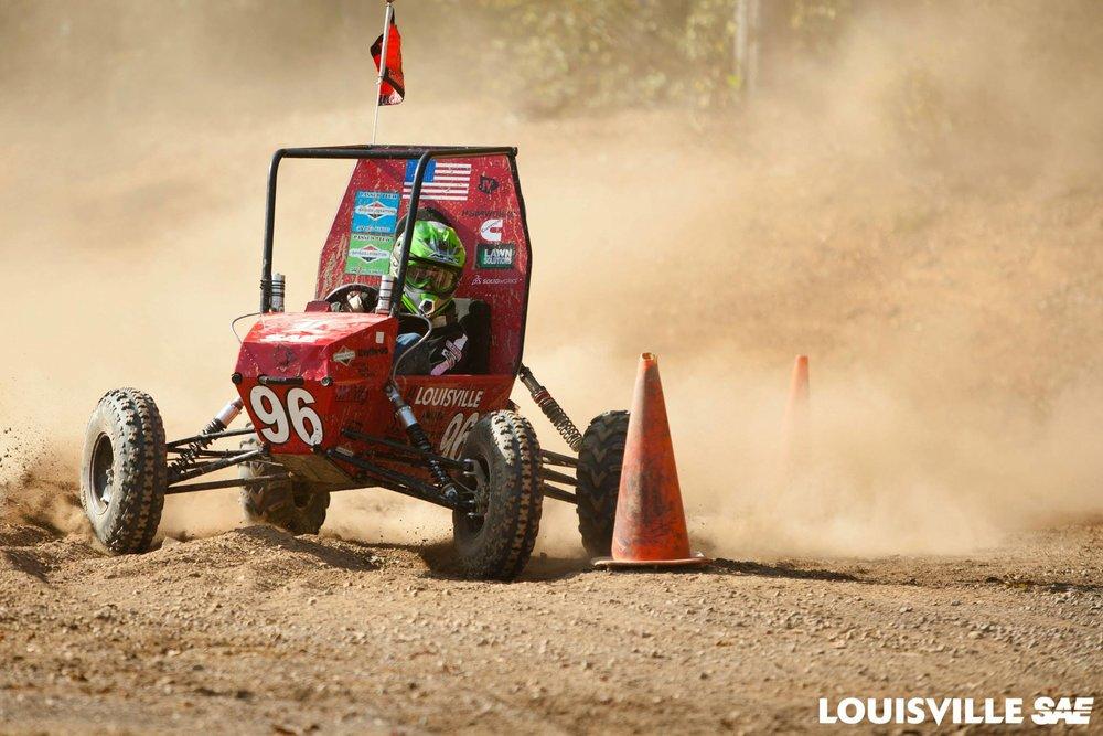 1st Place: University of Louisville - Car# 96 | 51 Laps