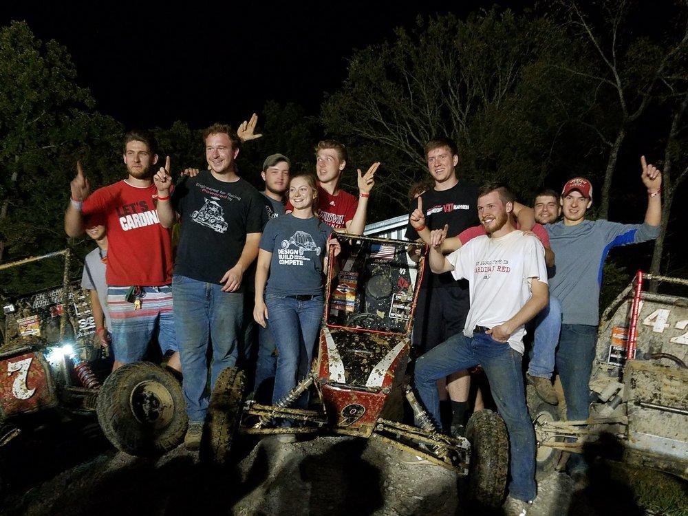 1st Place: University of Louisville - Car# 9 | 26 Laps