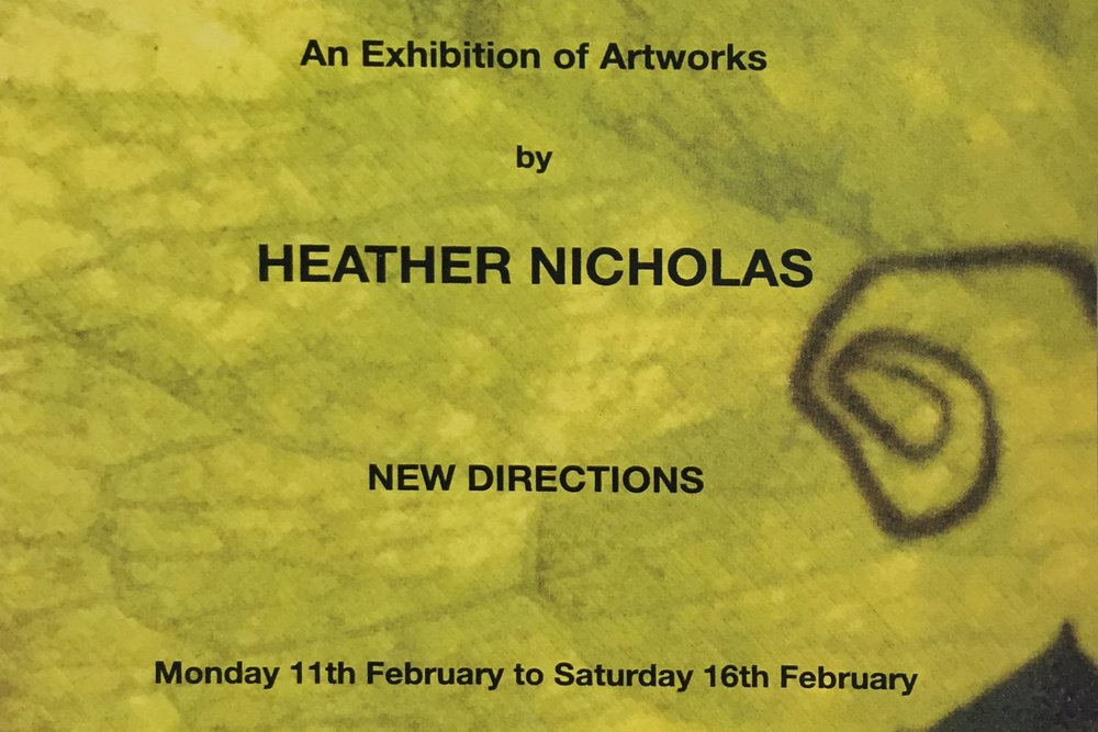 Heather Nicholas: New Directions -