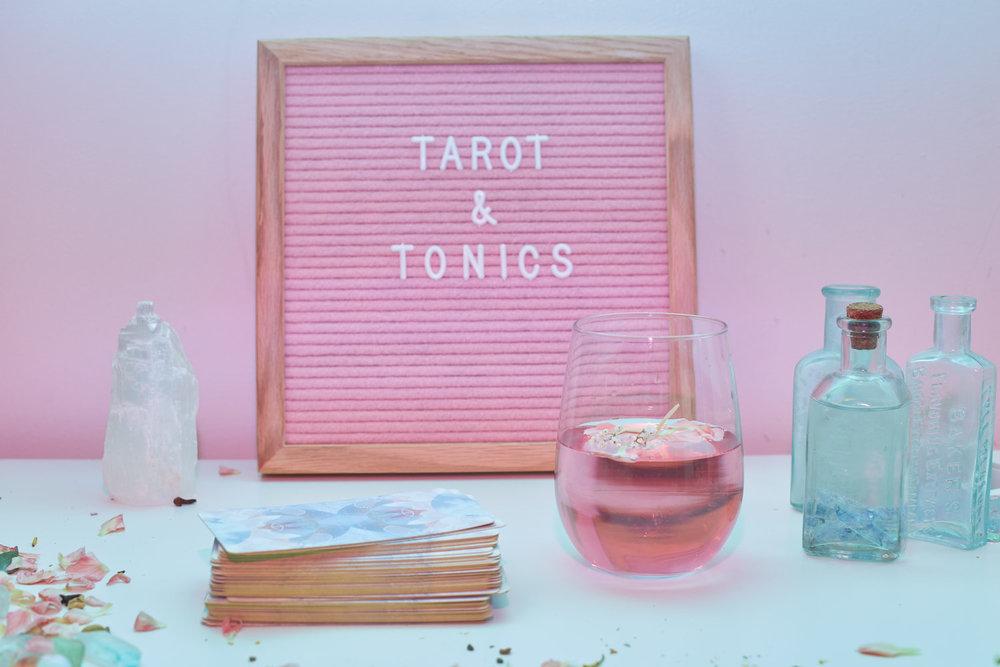 Tarot & TonicsGroup Workshop - Learn more