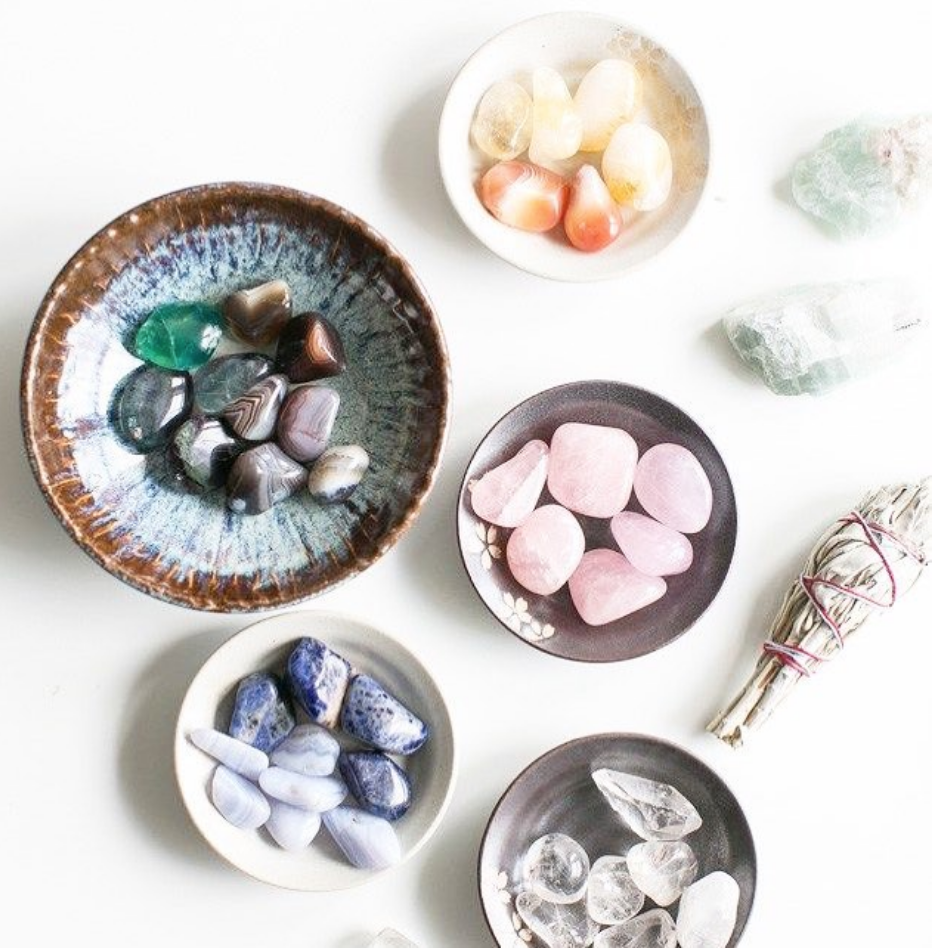 Crystal CateringGroup Workshopswe learn how crystals are use for Anxiety , stress , Creativity and More. - Learn more