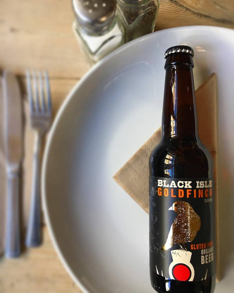 Come in and try our new Organic, Gluten Free and Vegan beer by Black Isle!