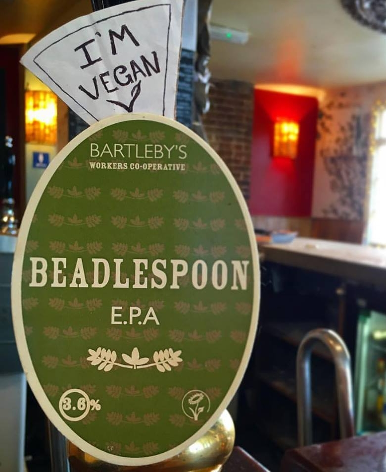 Today on our Vegan hand pump we've got our wonderfully tasty, easy drinking, Brighton brewed, English Pale Ale, courtesy of Bartleby's!