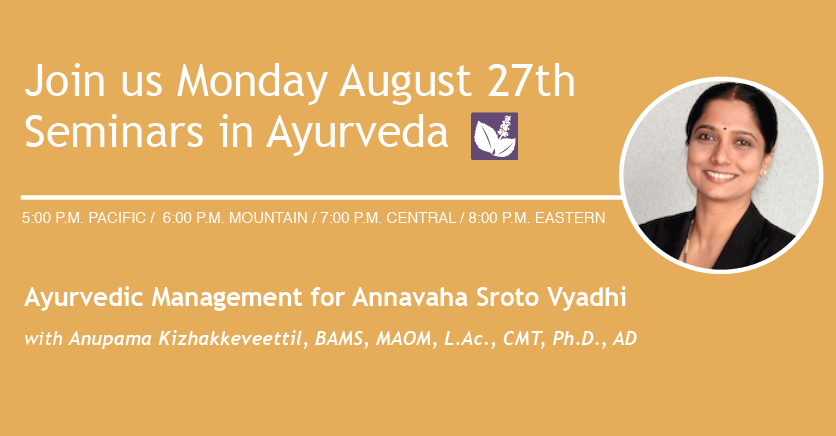 Seminars in Ayurveda