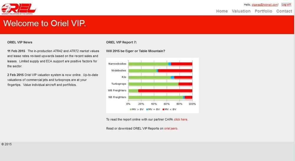 The new premium valuation tool   ORIEL VIP Membership    Learn More