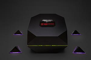 Its corners contain a speed sensor to track progress
