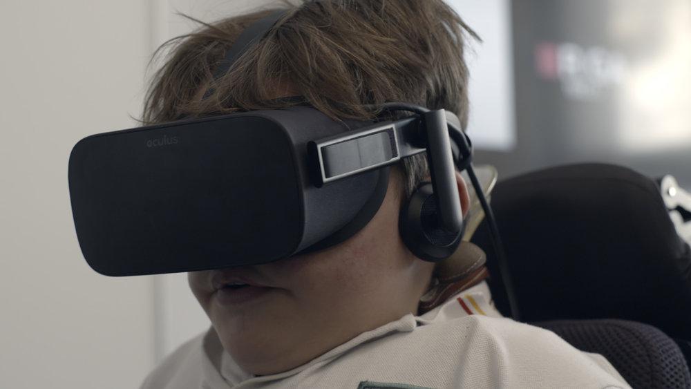 VR Power Trainer is a virtual reality training platform