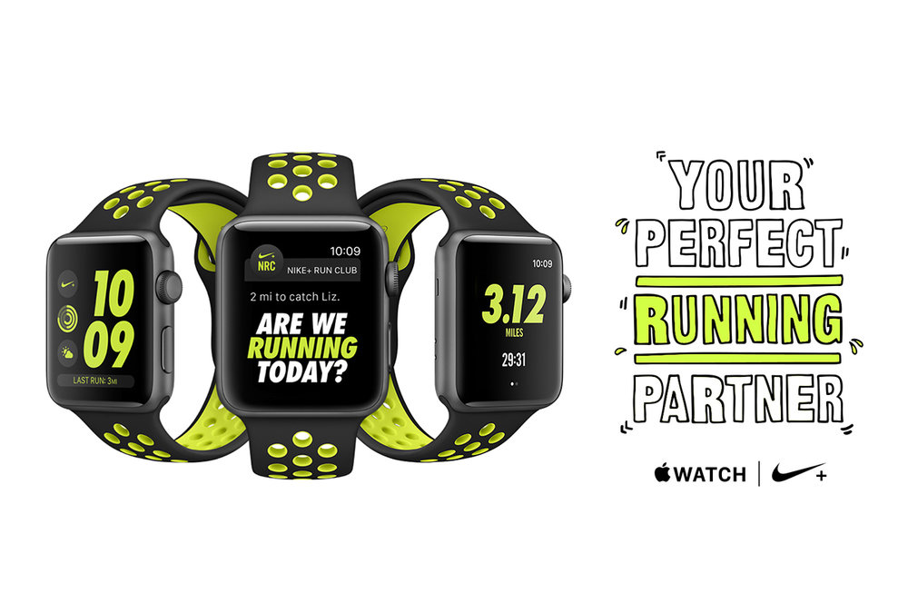 "The Apple Watch Nike+ offers a daily reminder: ""Are we running today?"""