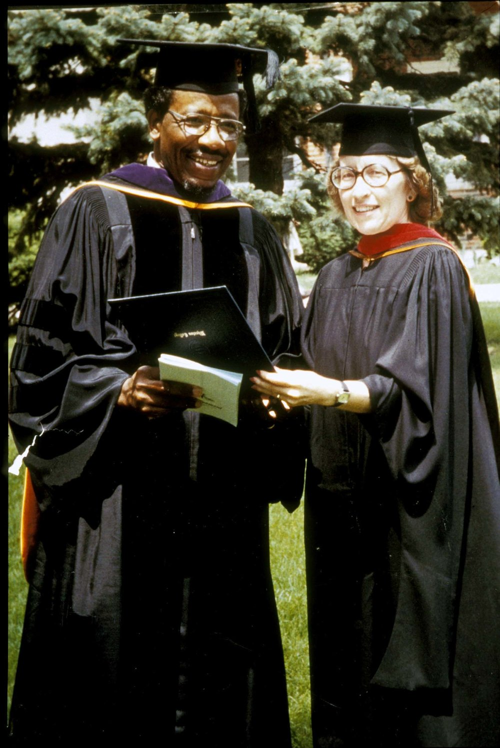 1st Doctorate at Wheaton College.JPG