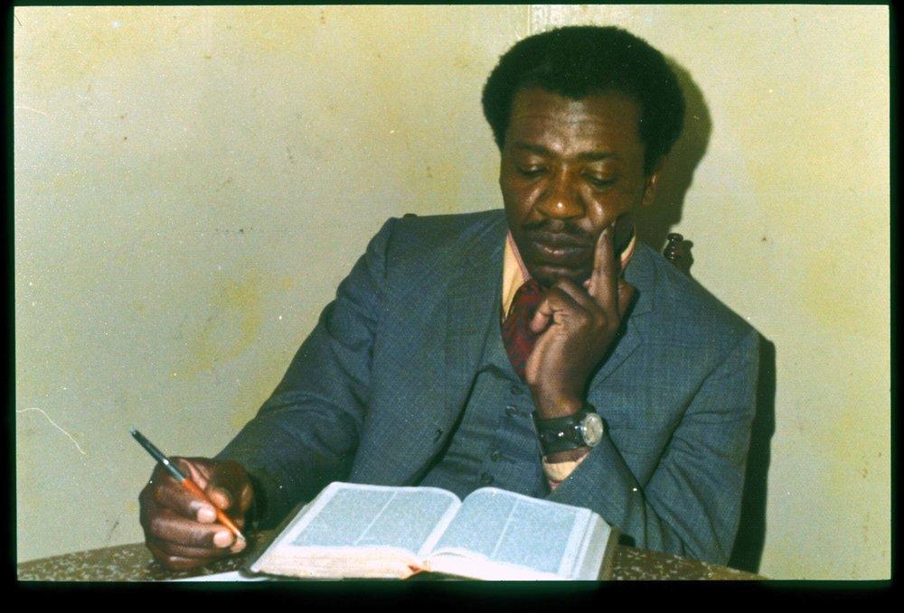 JP Studying Bible 1973.JPG